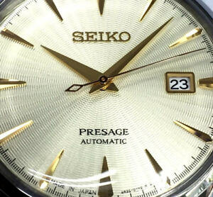 SEIKO PRESAGE Cocktail - Golden Champagne SRPC99J1 MADE IN JAPAN
