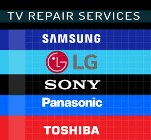 Professional TV repair services