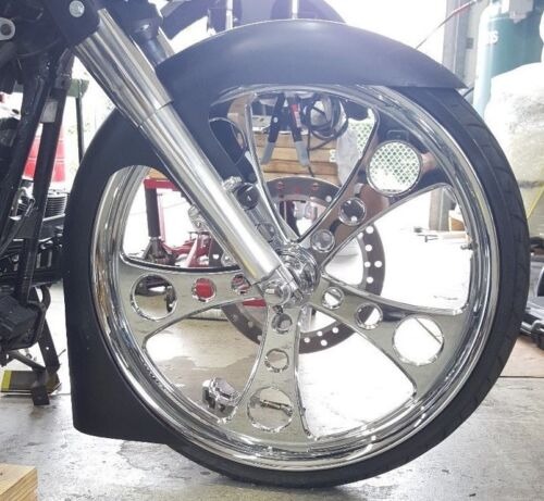 "26""  Fl/wrap #2 Combo Harley Davidson front fender  Fl Softail Deluxe Heritage"