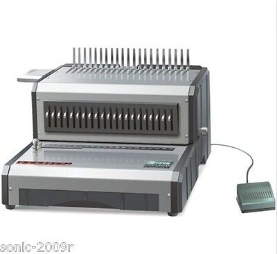 Heavy Duty Electric Plastic Comb Binding Machine Usg