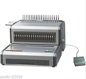 Heavy-Duty-Electric-Plastic-Comb-Binding-Machine-USG