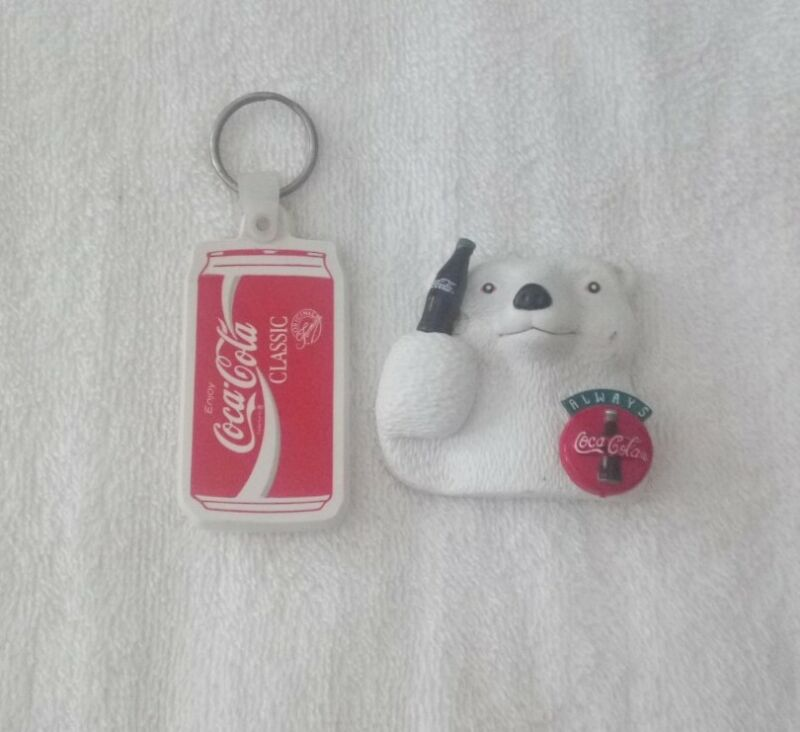 Coca Cola Magnet And Keychain