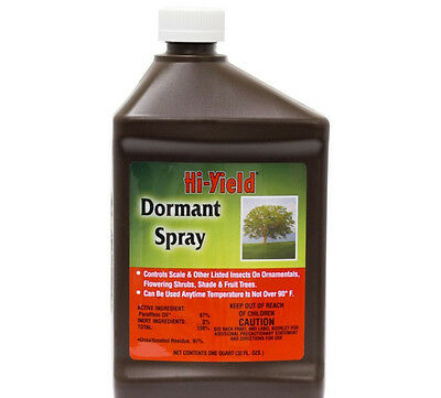 Dormant Spray Paraffinic Oil 1 Quart  ...