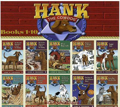 The Original Adventures of Hank the Cowdog 1-10 by John R Erickson 10 Paperbacks