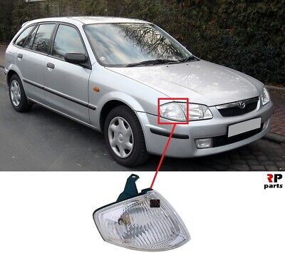 FOR MAZDA 323 323F 98-00 NEW FRONT FENDER INDICATOR LAMP WHITE RIGHT O/S