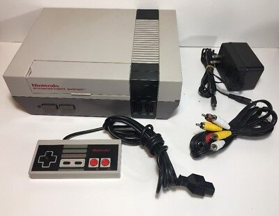 Nintendo Original Nes Console System All Hookups Refurbished Tested Fast Ship