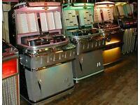 Wanted - jukebox/pinball/arcade machines