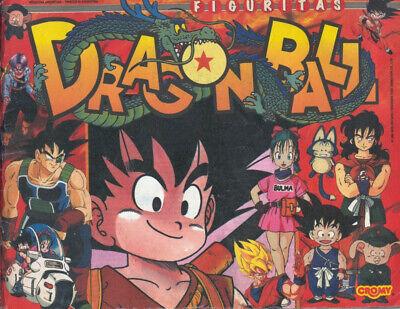 FACSIMIL STICKER ALBUM CROMO DRAGONBALL DRAGON BALL CROMY 1991 COMPLET FIGURITAS