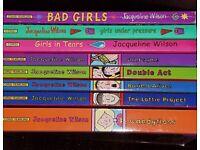 8 Jacqueline Wilson books for sale