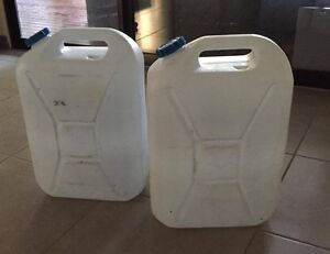 Jerry can for Petrol/ Deisel and Water Containers for camping Cable Beach Broome City Preview