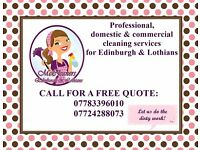 **CLEANER** Professional, Domestic & Commercial Cleaning Services ** in Edinburgh & Lothians
