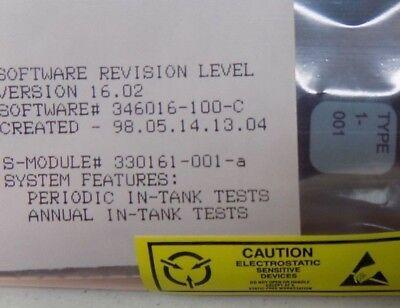 Veeder-root Tls-300 Static Tank Testing Sem 330161-001 Gilbarco Wayne Tokheim