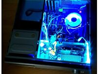 Antec Fusion 430 PC. very quiet Custom Build. Intel QUAD Core! only 14 cm tall. can deliver locally!
