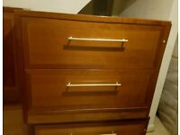 Chest drawer and cabinet