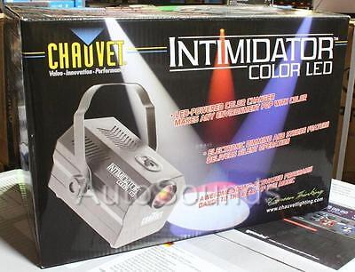 Chauvet INTIMIDATOR SPOT COLOR LED Pro DJ 4 Channel Colored Spotlight Effects Chauvet Led Color
