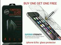 QUALITY PREMIUM TEMPERED GLASS SCREEN PROTECTOR PROTECTION APPLE IPHONE 6, 6s ***free delivery***