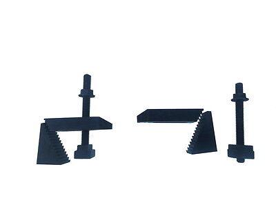 Stufenspannpratzen,Spannpratzen aus Stahl mit Nutensteine M6 für 8mm Nuten