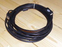 CSL 10m USB 2.0 extension cable, high quality with repeater. VGC. 4 cables available