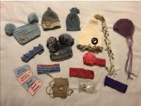 Collection of newborn photography props