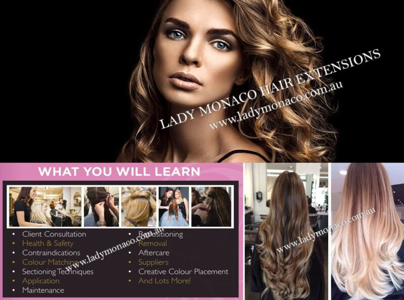 899 Hair Extension Courses Training In 7 Methods 1 Day Sydney