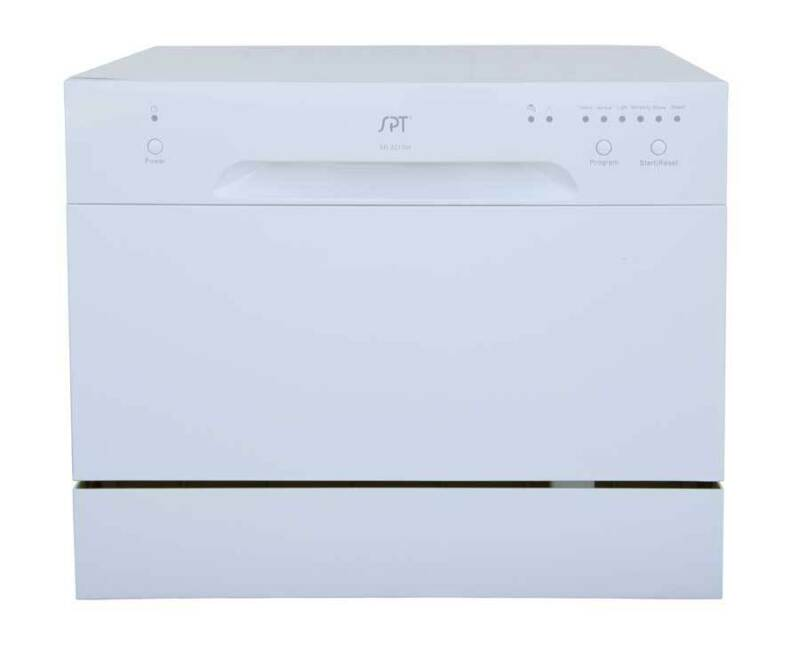 "SPT 22"" Tabletop Portable Dishwasher White SD-2213W"