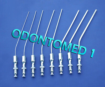 8 Frazier Suction Tube Diagnostic Ent Surgical Instruments