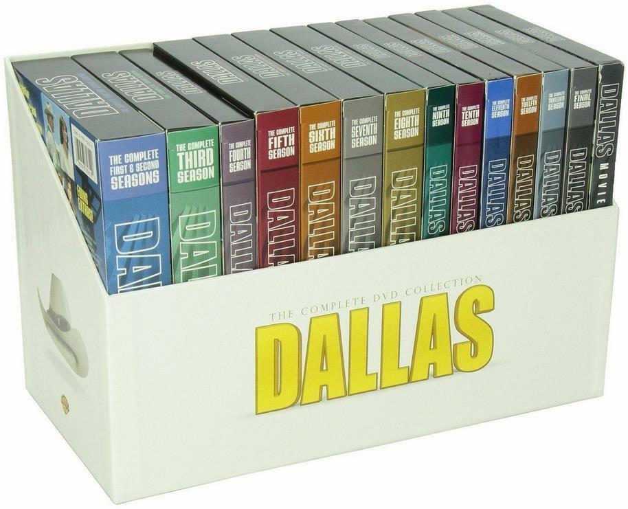 Dallas The Complete TV Series Season 1-14 DVD Plus 3 Movies