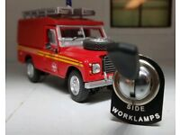 Land Rover Series Camper Dormobile//Carawagon Lucas Toggle Switch Cubby Light Tab