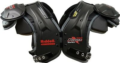 Riddell Power SPK+ Adult Football Shoulder Pads - QB / WR, -