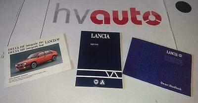 Lancia Delta Integrale 8V 16V Betriebsanleitung  Owners Manual+Manual Integrale