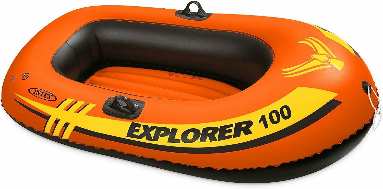 Swim Pool Games - Intex - Explorer Boat - Explorer 100 1-Per