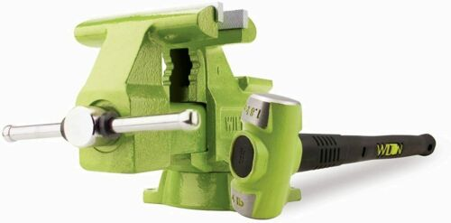"""Wilton B.a.s.h Special Edition 6.5"""" Utility Bench Vise & 4 Lb. Sledge Hammer New"""