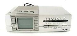 Timex Digital Alarm Clock & Nature Sounds AM FM Radio Sleep Therapy Model T434S