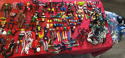 LEGO Lot 7 lbs. Hero Factory, Bionicle Parts Mask Weapons Lot - See All Pictures