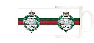 5TH ROYAL TANK REGIMENT CAP BADGE PRINTED ON A 11OZ MUG. GIFT BOXED
