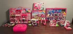 Barbie Mega Bloks Lot