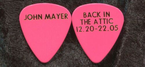 JOHN MAYER 2005 Back In Attic Tour Guitar Pick!!!  custom concert stage Pick #2