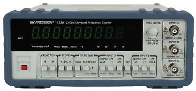 Bk Precision 1823a 2.4 Ghz Universal Frequency Counter With Ratio Function New
