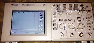 Textronix Tds 1002 2 Channel Digital Storage Oscilloscope 60 Mhz 1gss