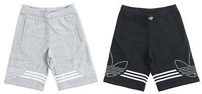 Adidas Men Originals Out-line Shorts Pants Training Gray Bottom GYM Pant