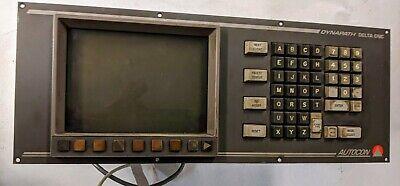Dynapath Delta 30 Cnc Operator Panel 4303803 Crt 4203794e-070 Z-axis V20931021