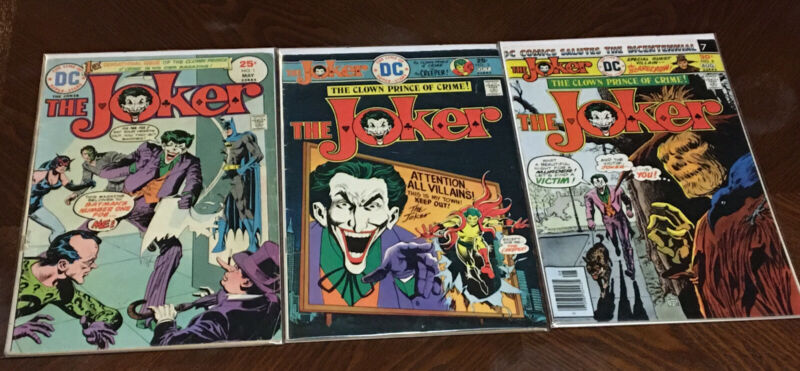 Joker #1 Comic Lot  1975