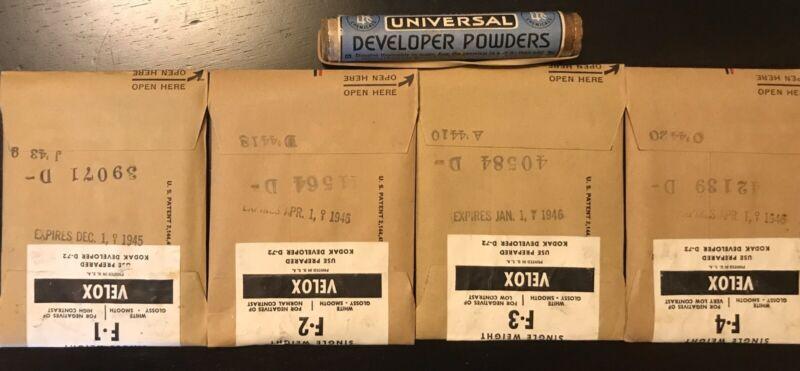 Antique Kodak Velox Photographic Paper SEALED IN ORIGINAL PACKAGE.