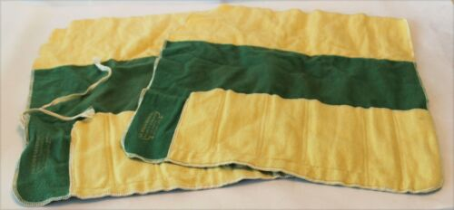 Vintage Lux.Bond & Green Inc. Place Setting Roll Up Storage Bags - Lot of 2