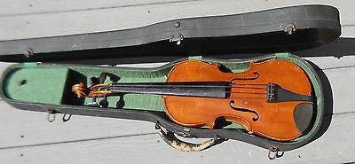 old German  violin full size for minor repair
