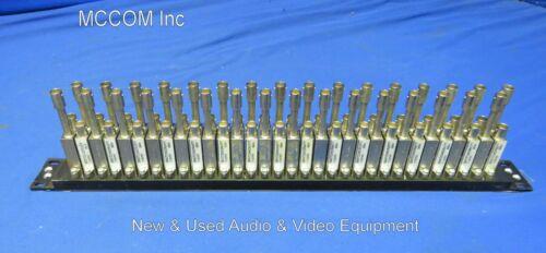Switchcraft 2x32 High Definition Video Patchbay w/ 17J5701 Jacks