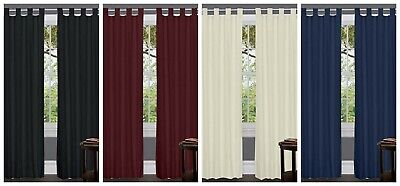- TAB TOP CURTAINS  WINDOW CURTAIN PANEL SET TWO PIECES