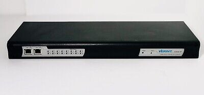 Verint S1816e-sp 16-channel Cctv Video Encoder 115msec Latency H.264 Works