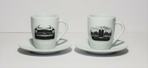 BMW Espresso Cup and Saucer Set by Kahla