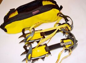 Grivel G12 crampons plus Alaska carry bag